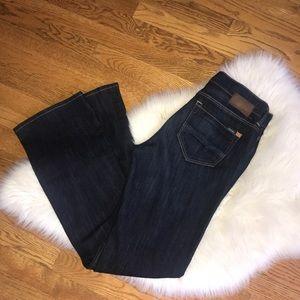 Mavi Molly Bootcut dark wash denim jeans size 29